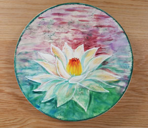 Tustin Lotus Flower Plate