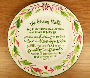 Tustin The Giving Plate