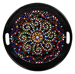 Tustin Mosaic Mandala Tray