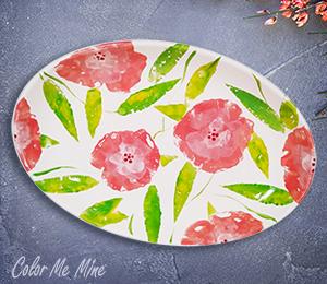 Tustin Floral Paper Stamping