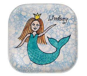 Tustin Mermaid Plate